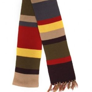 4th Doctor Who Deluxe Scarf